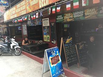 スポーツバー タオ島グルメ レストラン バンズダイビングコタオ