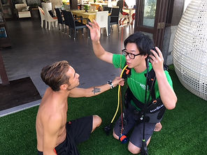 タオ島 ダイビング インストラクター バンズダイビングリゾートコタオ