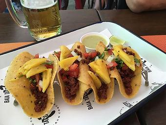 メキシカン タコス タオ島グルメ レストラン バンズダイビングコタオ