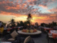 サンセット タオ島グルメ レストラン バンズダイビングコタオ