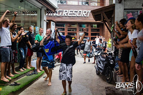 タイ タオ島 IDC バンズダイビング リゾート コタオ