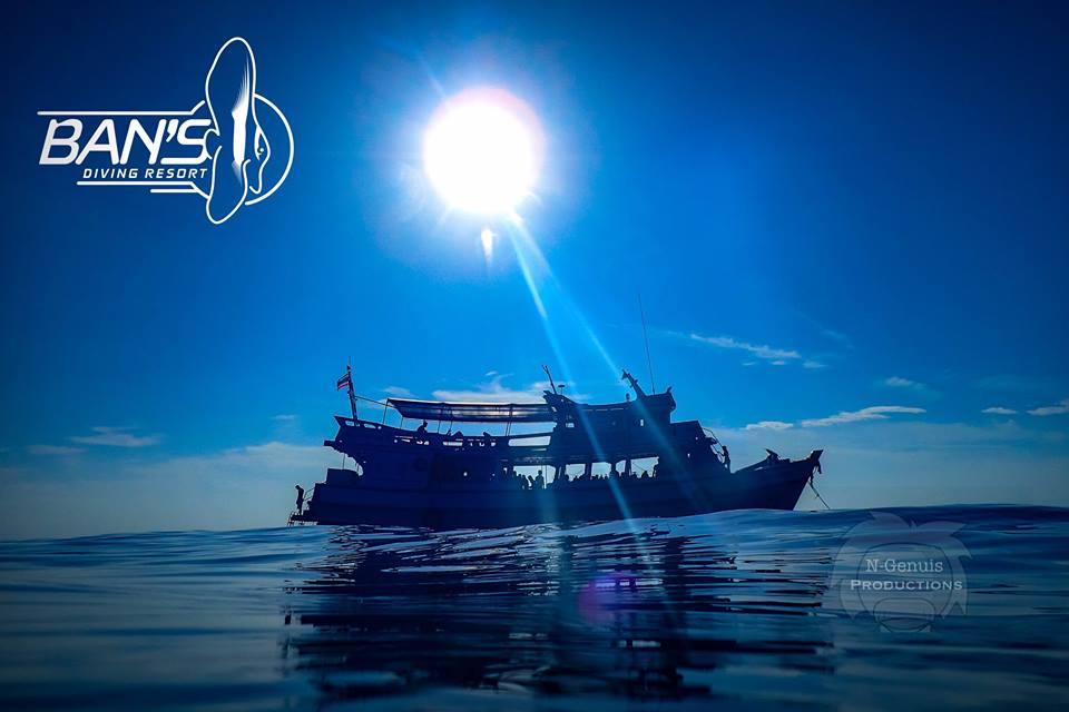 ダイビングボート バンズダイビング コタオ