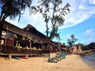 ビーチ タオ島グルメ レストラン バンズダイビングコタオ