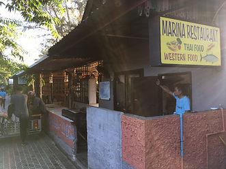 シーフード タオ島グルメ レストラン バンズダイビングコタオ