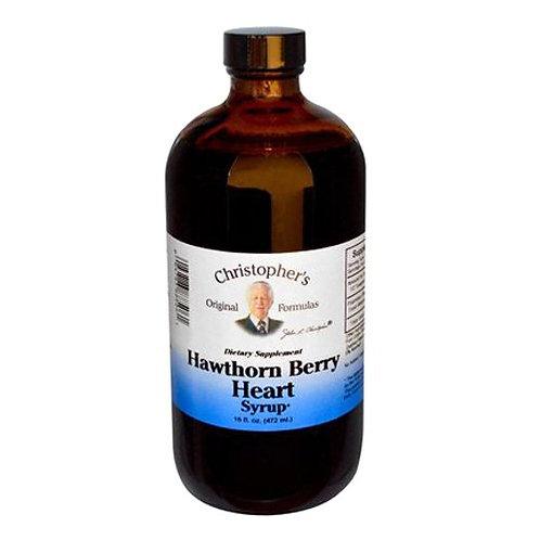 Hawthorn Berry Heart Syrup 16 oz.