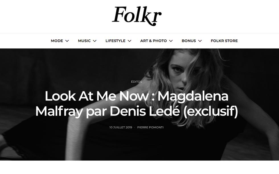 Folfr x Magdalena Malfray