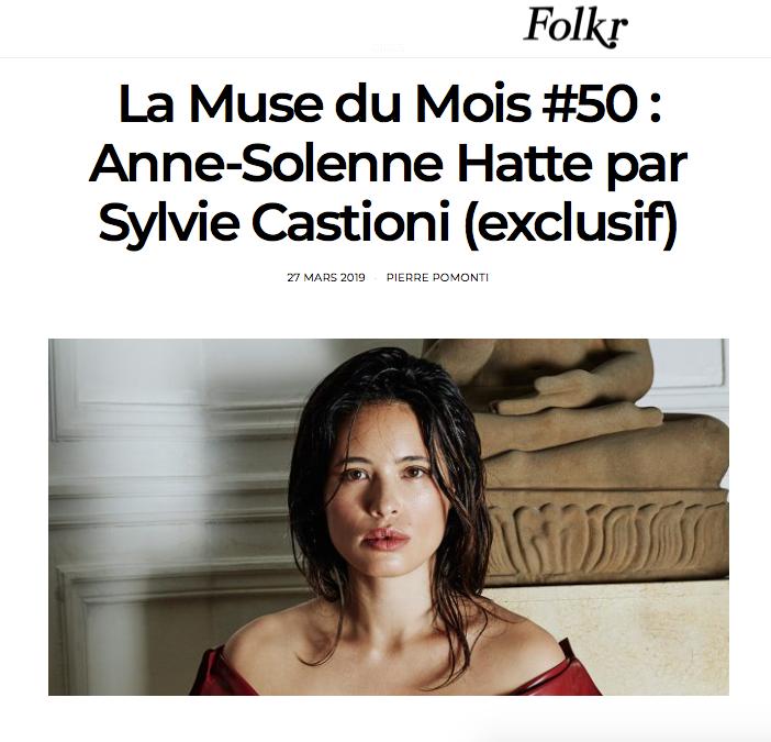 FOLKR x Anne Solenne Hatte