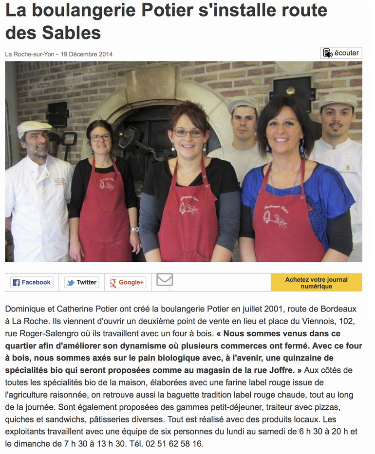 Boulangerie Salengro