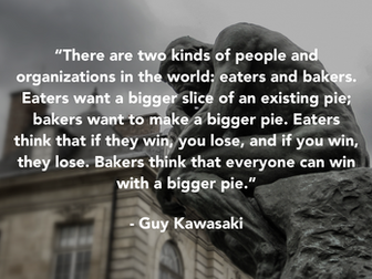 How the Bigger Pie Mindset Keeps You Top-of-Mind