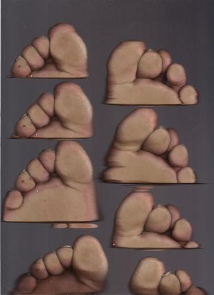 choreographie pour deux mains des des pieds