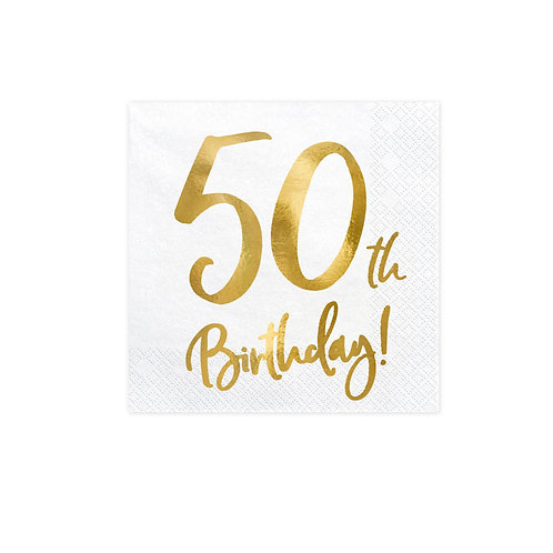 TOVAGLIOLI  50  TH BIRTHDAY