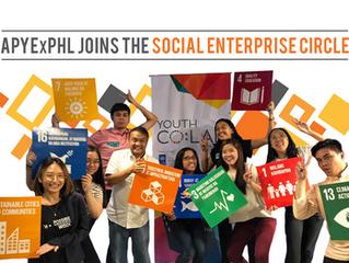 APYExPHL joins the Social Enterprise Circle