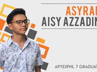 Empowered Champion: Asyraf Aisy Azzadin