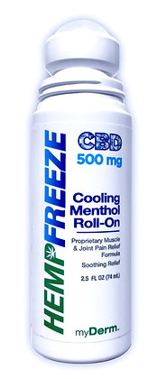 500 mg HEMPFREEZE Pain Relieving Roll-On Gel