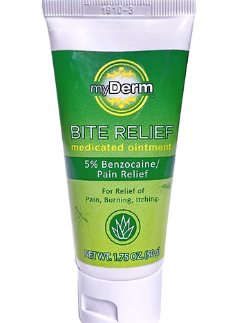 myDerm Bite Relief Medicated Ointment
