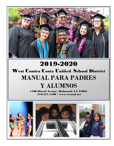 2019-20 Parent Student Handbook spanish-