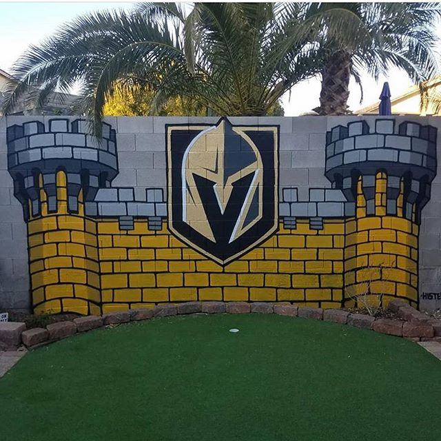 Golden Knights Home Install