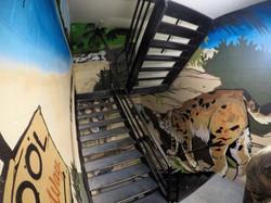 Linq Hotel Stairway Mural
