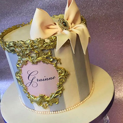 Gluten Free Pretty Birthday Cake