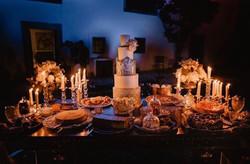 Portuguese Tiles Wedding Cake - Azulejos