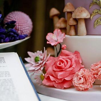 Handmade sugar flowers