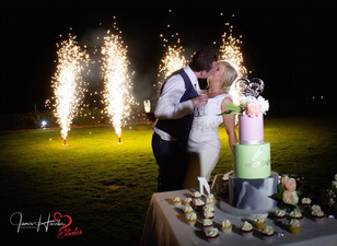Cake and Fireworks