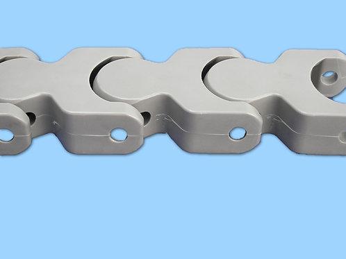 En acero Inoxidable y material termoplástico