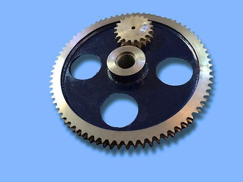 Engranaje especial en acero tratado