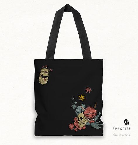 'autumn demons' canvas bag