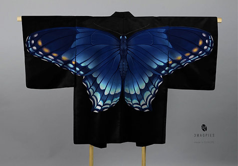 Haori 'blue butterfly'