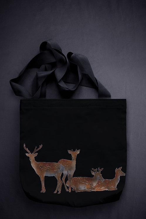 'sika deer' canvas bag