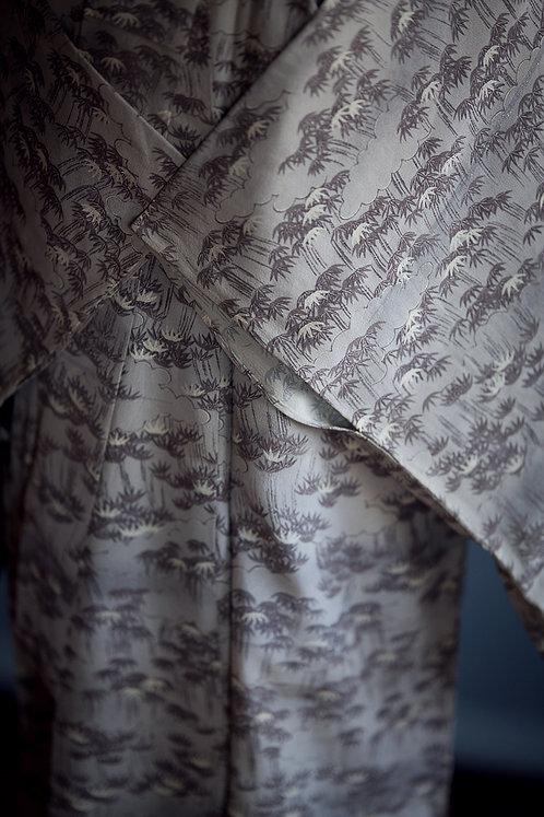 VINTAGE hitoe kimono