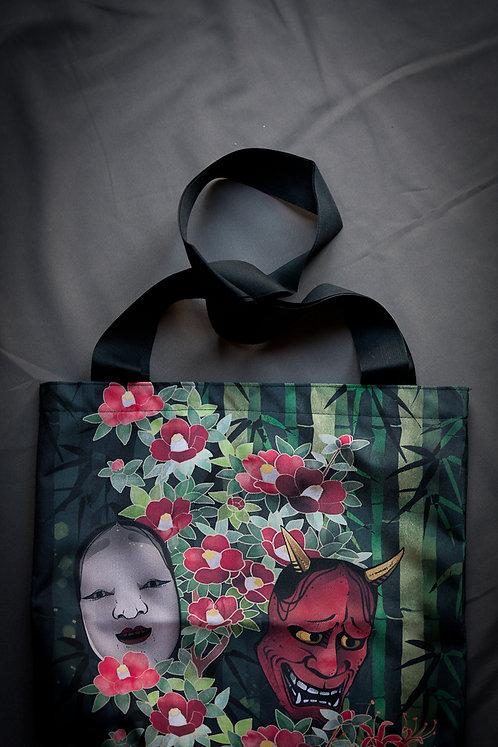 'hannya' canvas bag