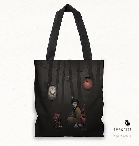 'yokai parade' canvas bag