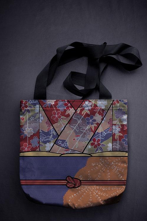 'kimono' canvas bag