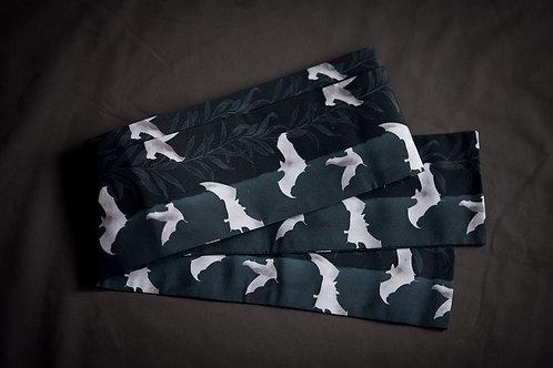 Datejime belt 'black bats'
