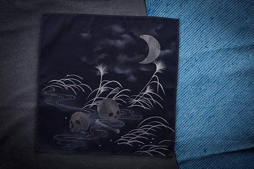 Furoshiki 'midnight lake'