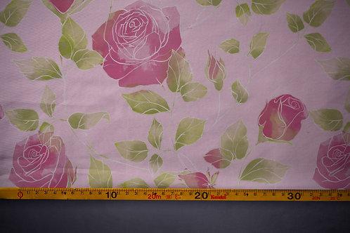 Printed fabric 'vintage roses'