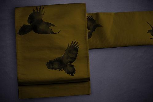 Nagoya/kyobukuro obi 'crows'