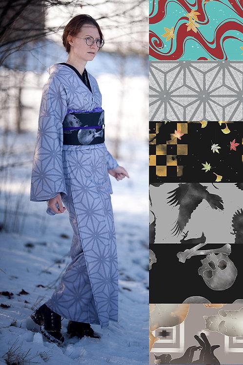 Fleece kimono (many colors available)