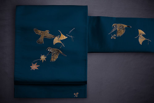 Nagoya/kyobukuro obi 'sparrows'