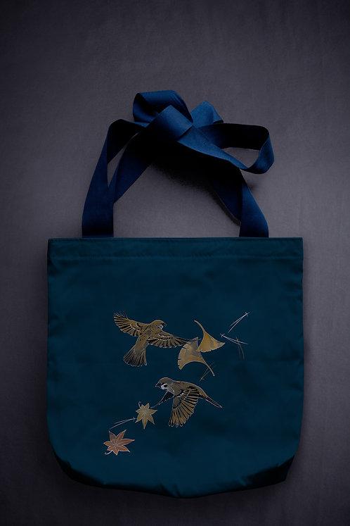 'sparrows' canvas bag
