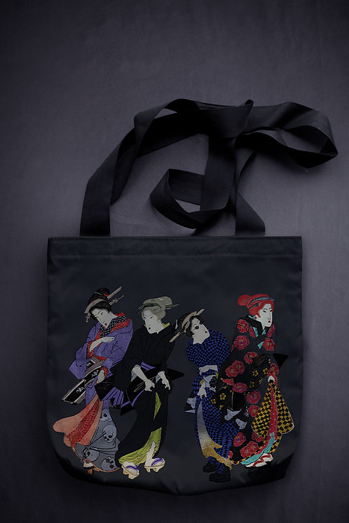 'modern bijin-ga' canvas bag