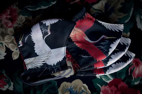 Face mask 'kimono'