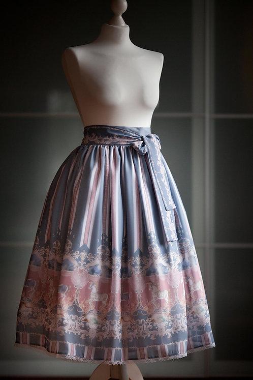 'rococo merry-go-round' skirt