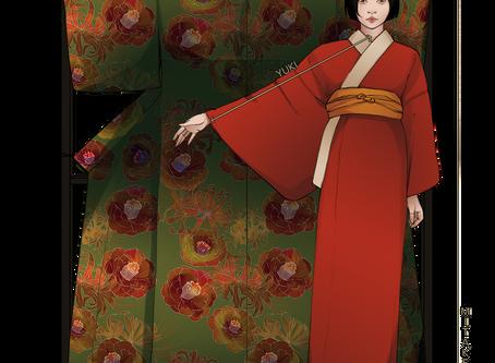Measure yourself for kimono