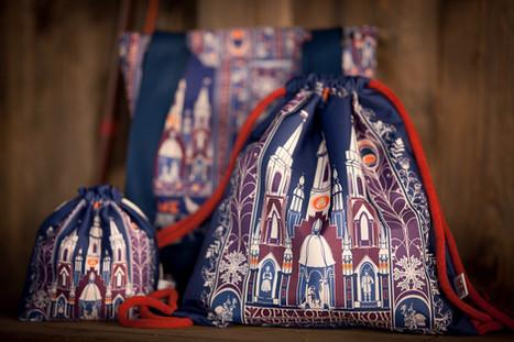 plecak, woreczek i torba na zakupy