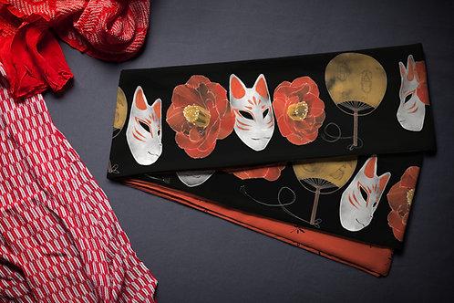 hanhaba obi 'fox mask'