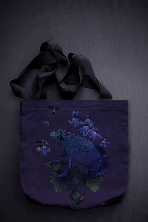 'dendrobates' canvas bag