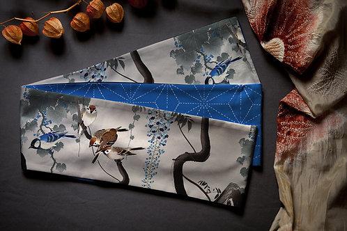 hanhaba obi 'Ohara Koson sparrows'